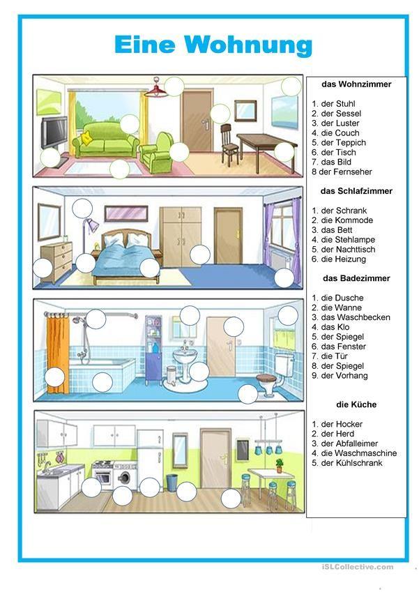 Haus Eine Wohnung In 2020 Wohnung Spanisch Lernen Unterrichtsstorungen