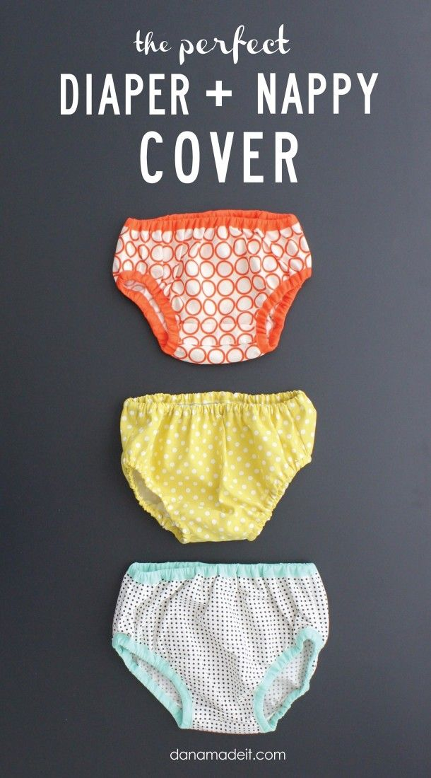 the Perfect Diaper and Nappy Cover pattern and tutorial