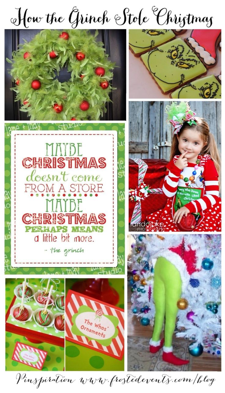 How the Grinch Stole Christmas The Very Best Christmas Ideas & Inspiration @Frosted Events #christmas #grinch #holiday #decorate