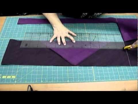Уроки для начинающих лоскутниц Изготовление косой бейки http://loskutok.net/