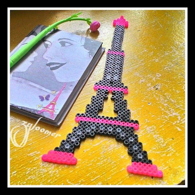 Eiffel Tower perler beads by zyloomer