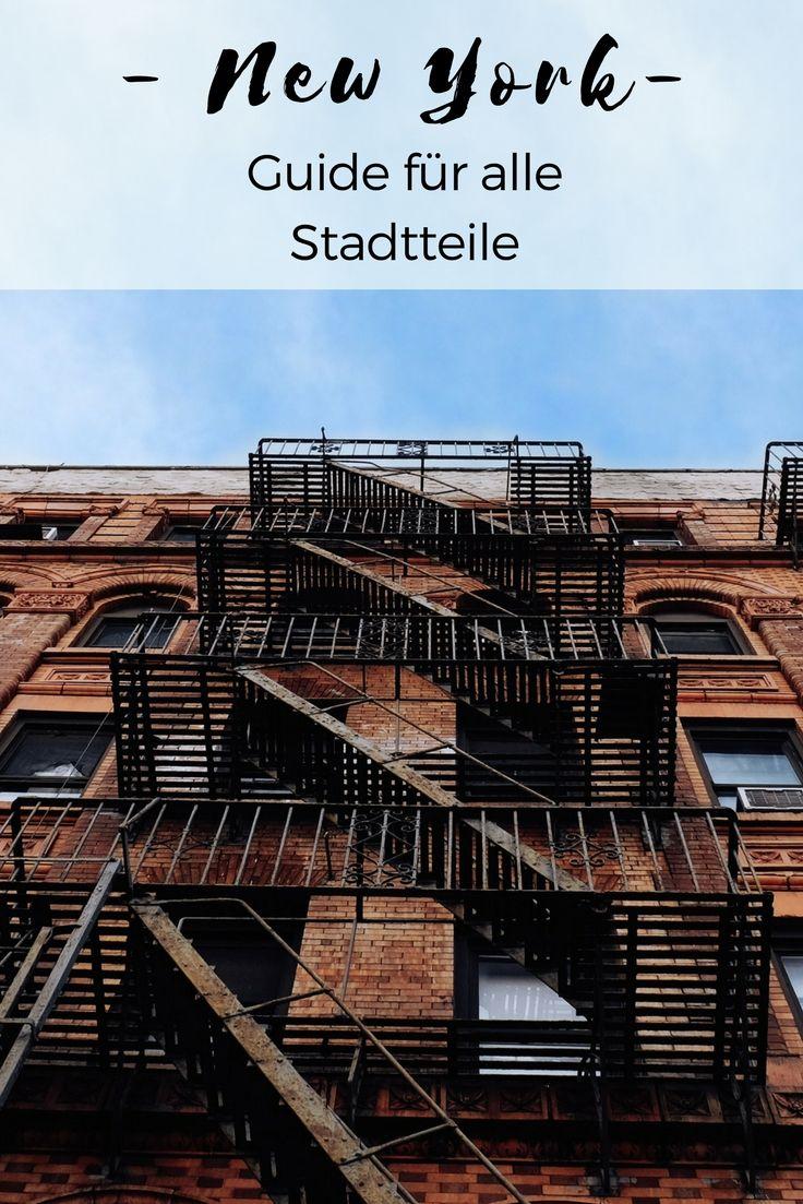 Bist du auf der Suche nach Tipps für alle New Yorker Stadtteile NYC hat viele charmante Ecken, die du bei deiner nächsten New York Reise entdecken solltest.
