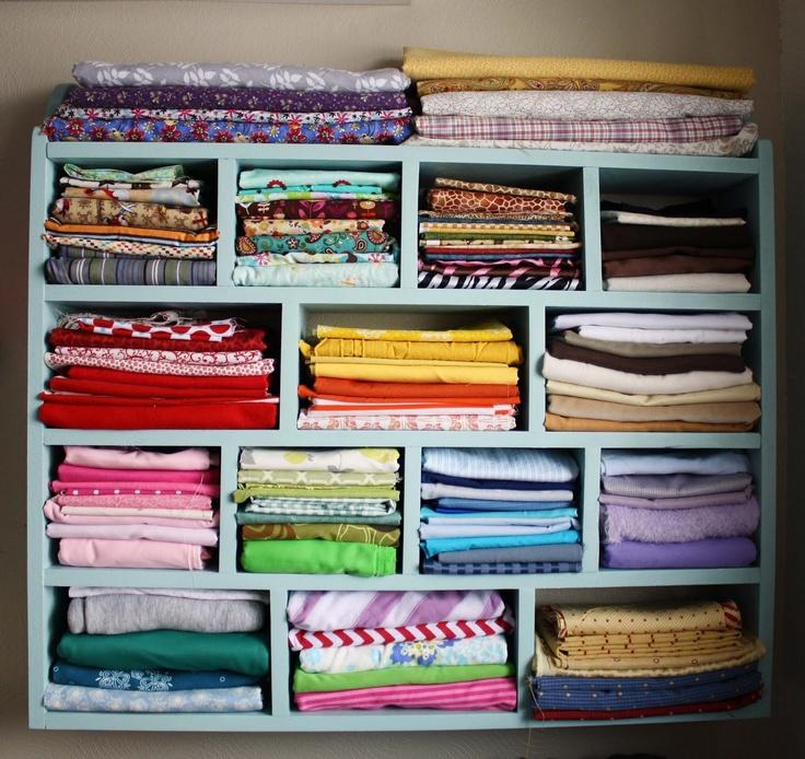 DIY: Fabric Storage Cubbies