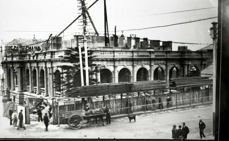 Construction of Newcastle Post Office, Hunter and Bolton S…   Flickr