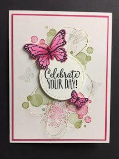 Schmetterlingsgala, Hallo Cupcake, Schönheit im Überfluss, Geburtstagskarte, 2019 Stampin 'Up! Anlässe und Sale-a-Brations