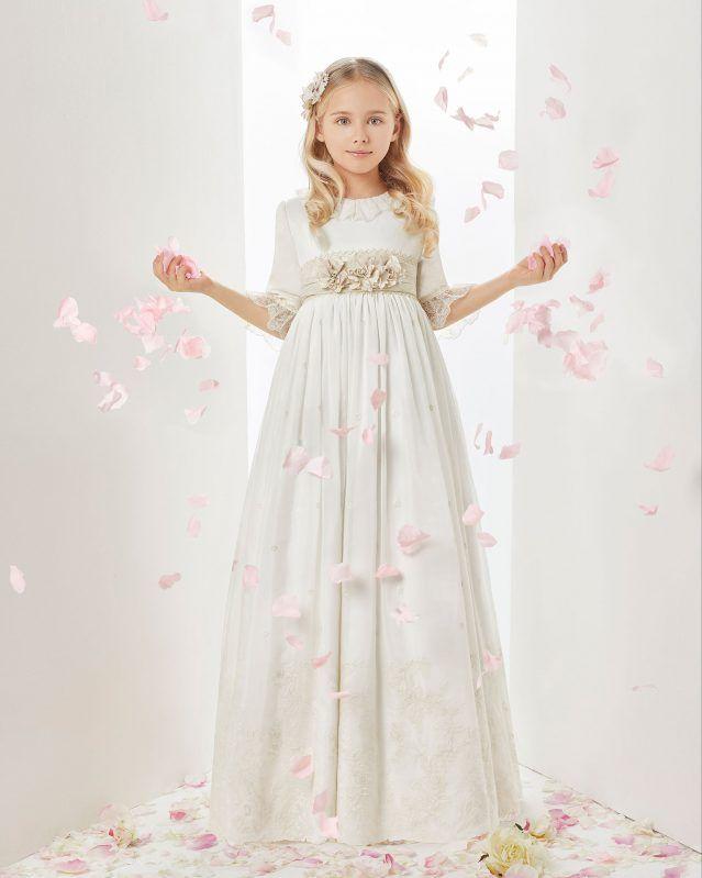 nuevo alto descuento buena calidad R1906 - Comunión 2019. Colección ROSA CLARA FIRST | vestidos ...
