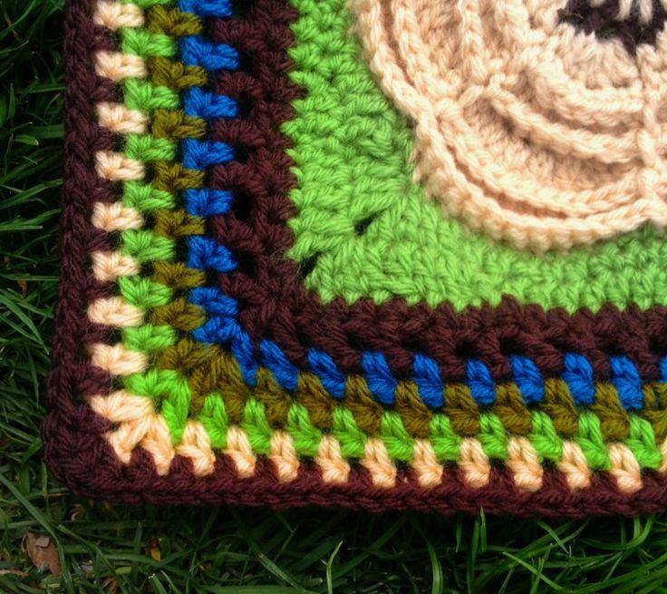 Mejores 69 imágenes de crochet-borders en Pinterest | Puntadas de ...