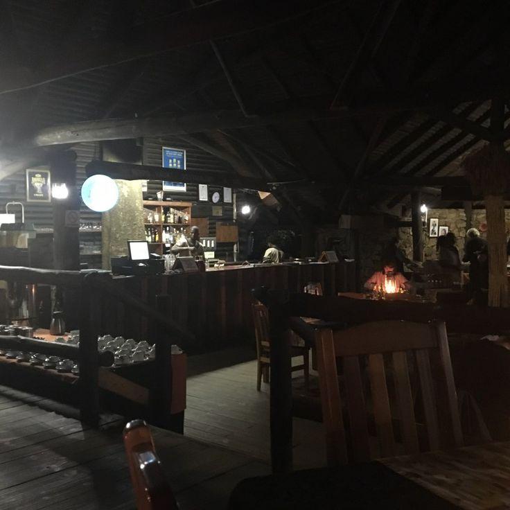 The bar at Milwane, Swaziland