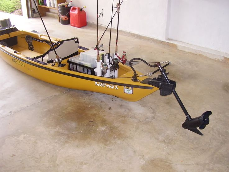 710 best images about yaks on pinterest pedal boat for Fishing canoe setup