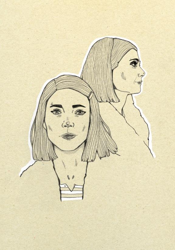 Margot Tenenbaum by Magdalena Pankiewicz, via Behance
