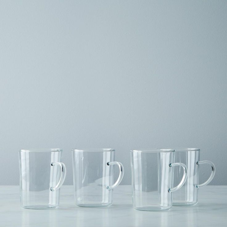 Glass Tea Cup (Set of 4) on Food52