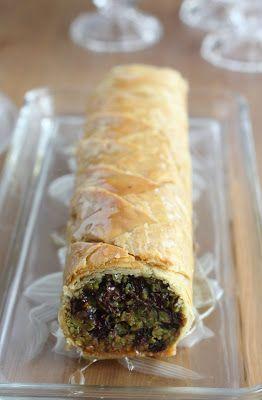 Délices d'Orient: Baklawa pistache et chocolat noir