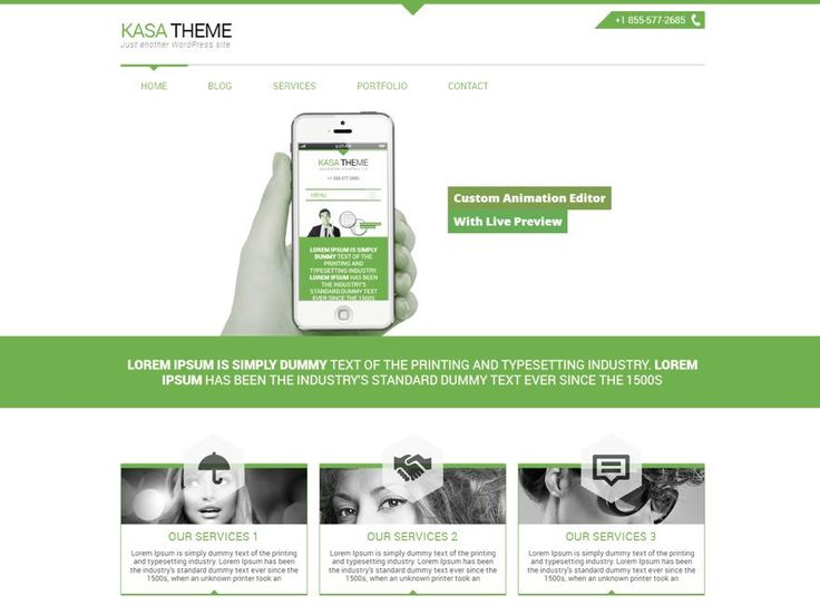 Kasa Green  is awesome, multipurpose and business oriented wordpress theme. Kasa Green is a 2 columns HTML5/CSS3 Responsive WordPress Theme. The themehttp://jabirah.com/m/kasa-green-multipurpose-wp-theme.html