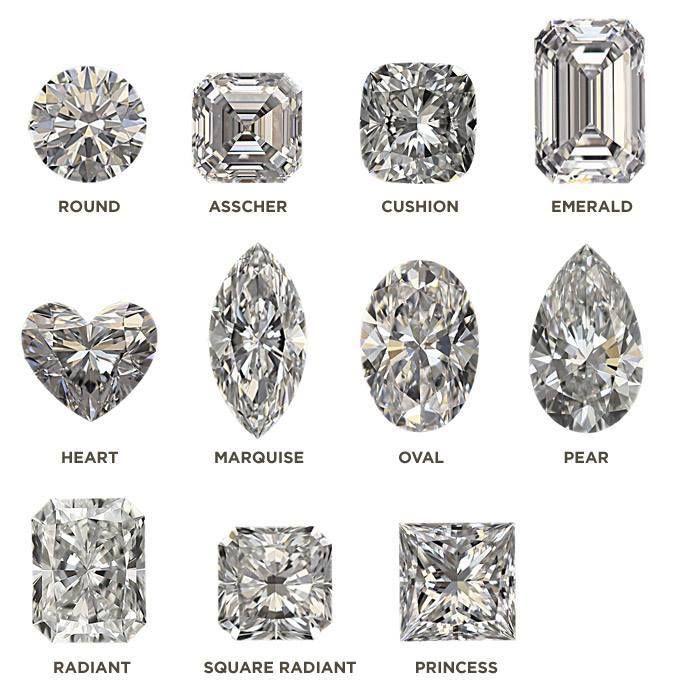 #diamonds #wedding #ringdesign #design #emerald #round #cushion #heart #marquise #oval #pear #radiant #princesse