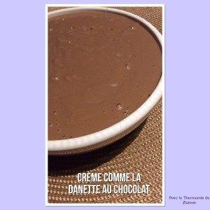 Cremes au chocolat meilleures que la danette au Thermomix ou autres robots ! – Avec le thermomix de zazoun
