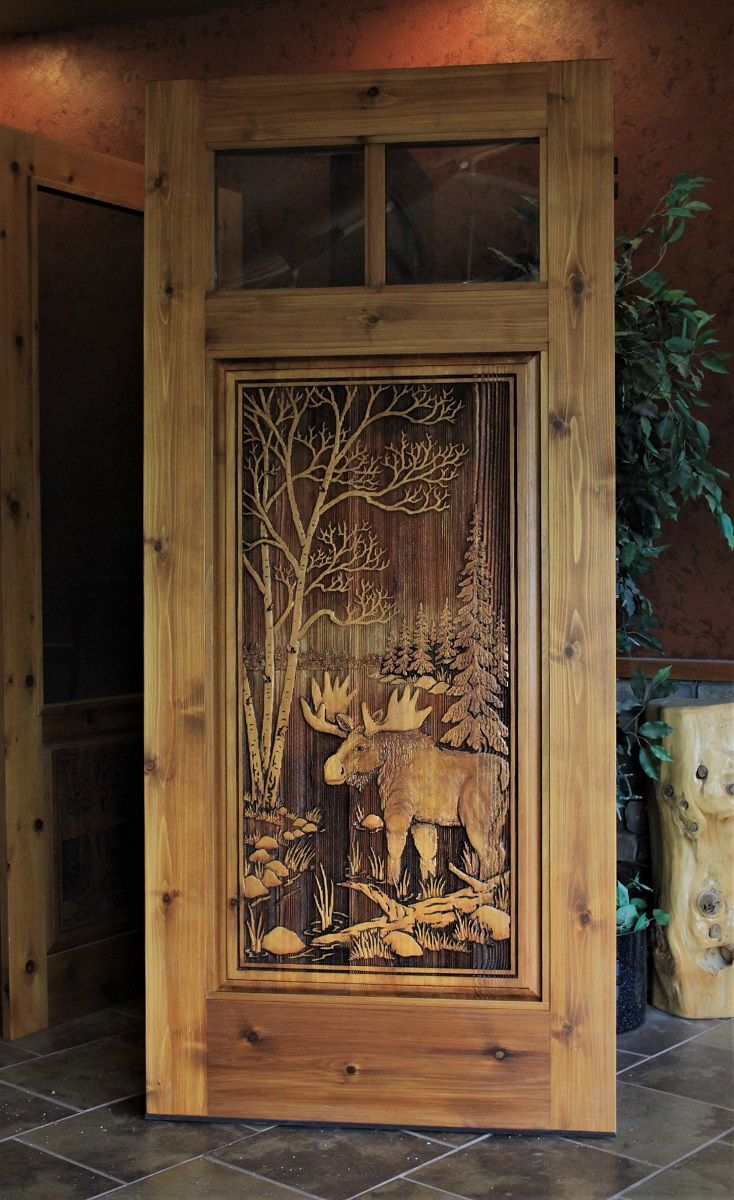 Pin By Great River Door Company On Carved Wood Doors Rustic Wood Doors Carved Doors Wooden Doors