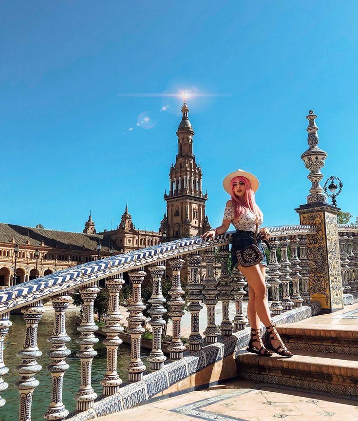 Lo bonita que es Plaza España y todavía no había subido esta foto ✨🌿 . ….