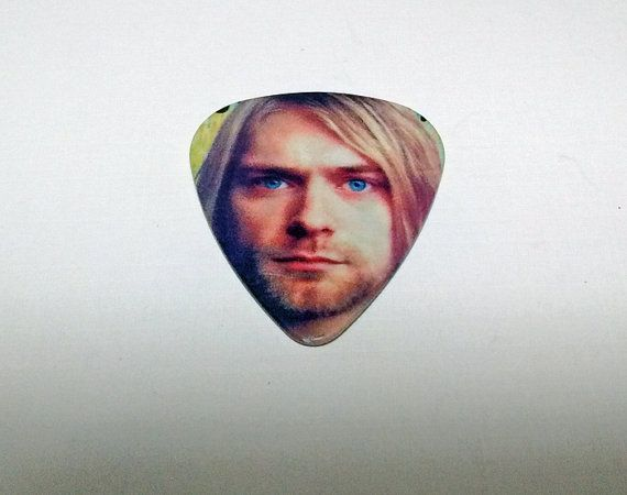 1 Kurt Coban Guitar Pick  DIY Crafts  Necklaces  by FrancisRoyal
