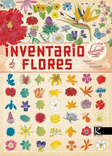 La despensa de letras: Novedad: Inventario ilustrado de flores