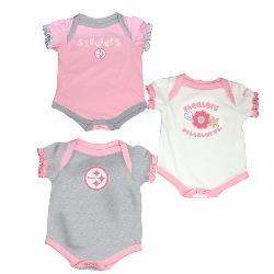 Steelers gear for mommy's little girl