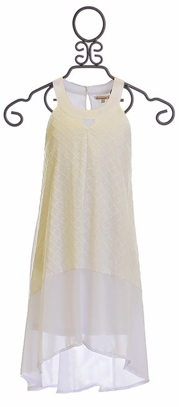 Ella Moss White Dress for Tweens Blaire
