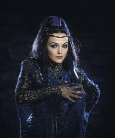 Miranda Richardson as Queen Mab - Merlin