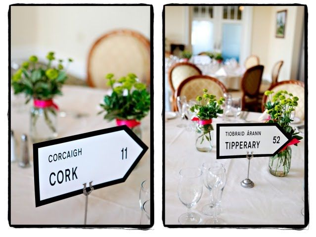 Ireland Table Names Would Be Cool To Put San Francisco Marin Pomeroy Donegal And All The Important Locations For Wedding Their Lives