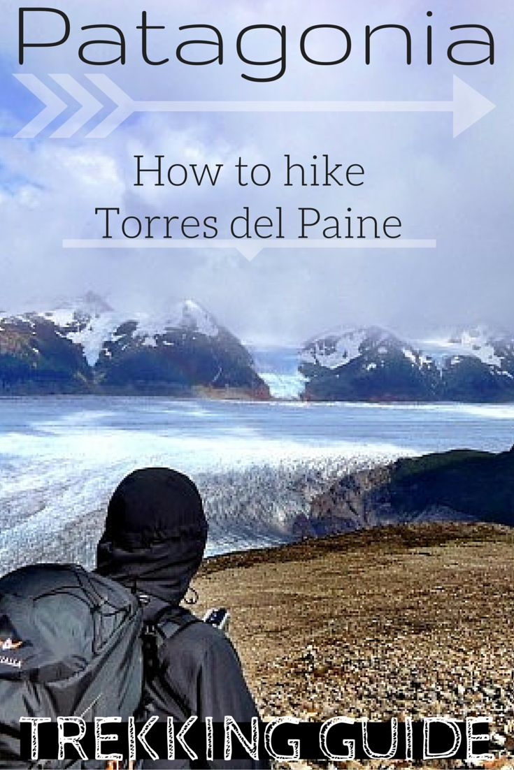Let me show you how to hike the circuit in Torres del Paine on your own including all information & costs needed with 3 different itineraries!