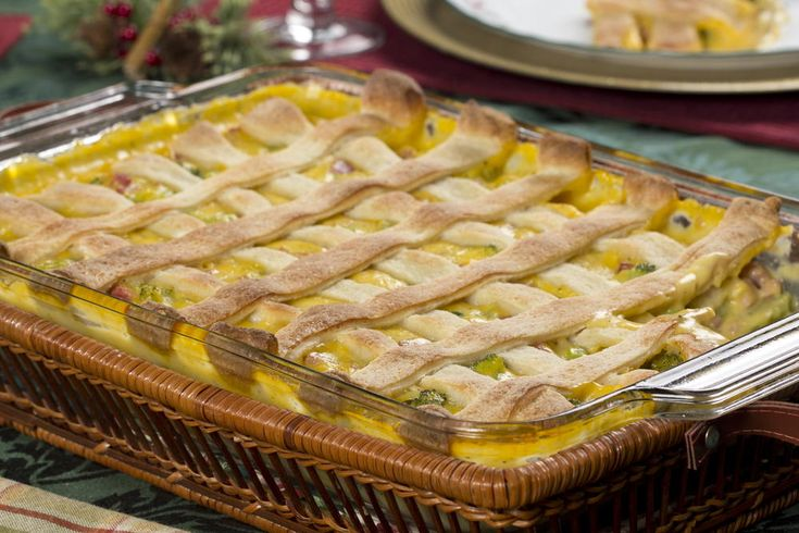 This Hearty Ham Pie is easy-as-pie to make and bake! It's got a cheesy, hearty ham filling that's oh-so-yummy. Plus, thanks to a few shortcuts, we can get this tasty dinner pie on the table in just 30 minutes!