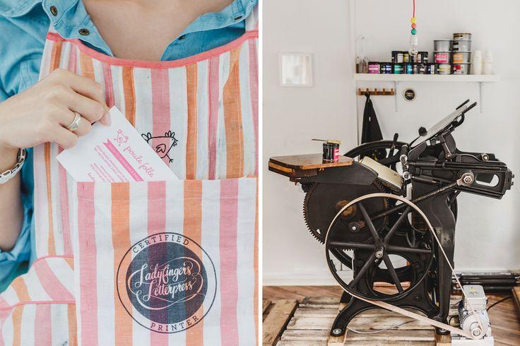 Was ist Letterpress — poule folle | Letterpress & Design