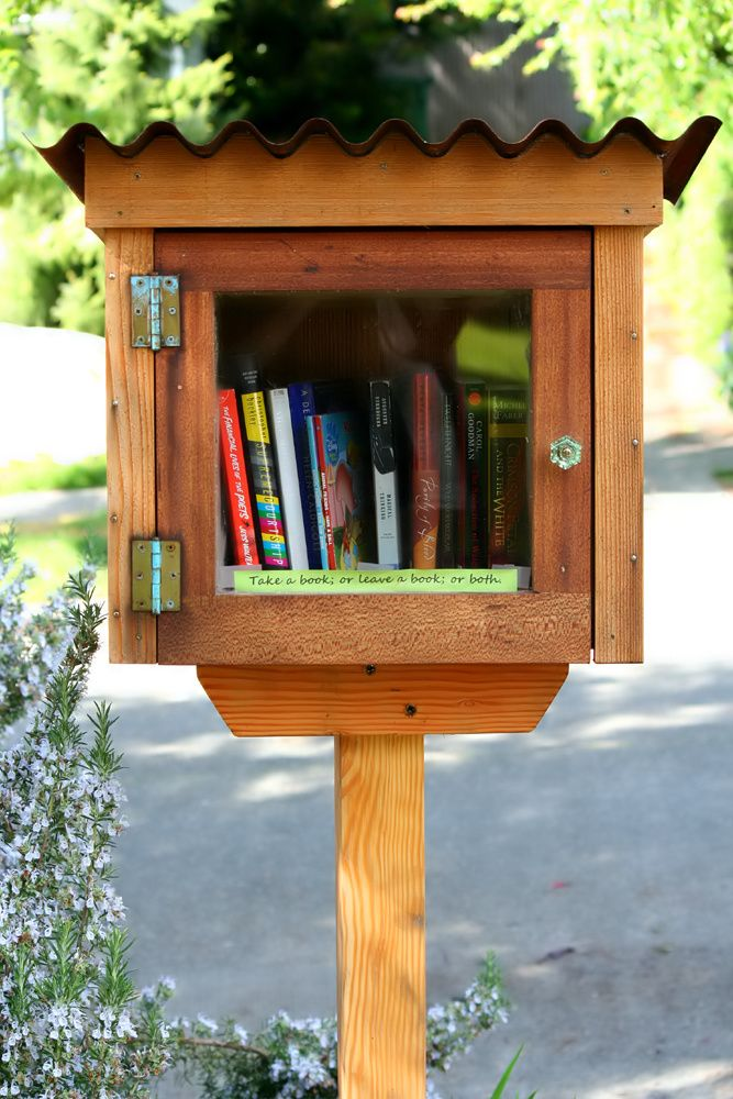1000 Ideas About Little Free Libraries On Pinterest