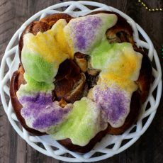 Mardi Gras King Cake | Joy the Baker