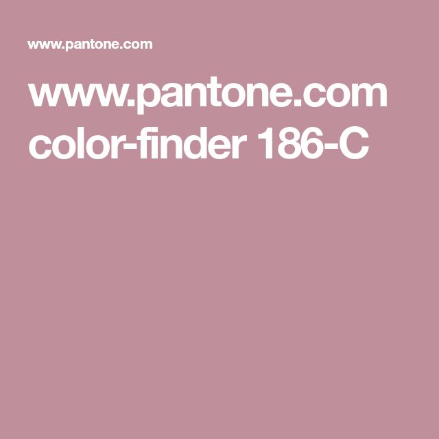 www.pantone.com color-finder 186-C