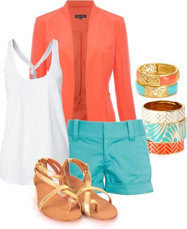 Bright and colorful for summer! #summerclothes #summeroutfit #womensclothes