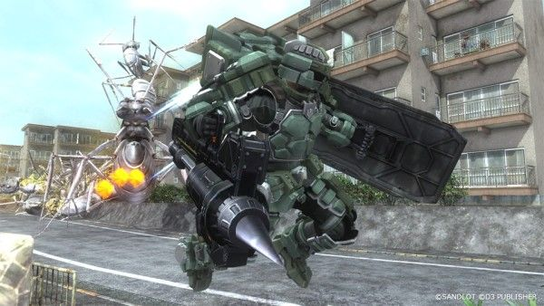 Earth Defense Force 5 details Fencer, Grim Reaper, and Immigrant Ship
