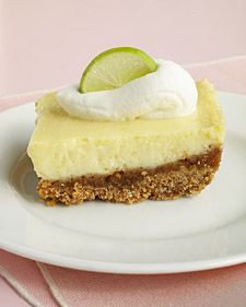 "This recipe is based on the famous Key lime pie from Joe's Stone Crab restaurant in Miami Beach. If you can't find Key limes, use regular fresh lime juice. The bars will keep, wrapped in plastic, in the refrigerator for up to three days.    Food editors prepared this recipe as part of the ""Cookie of the Week"" series on Martha Stewart Living Radio."