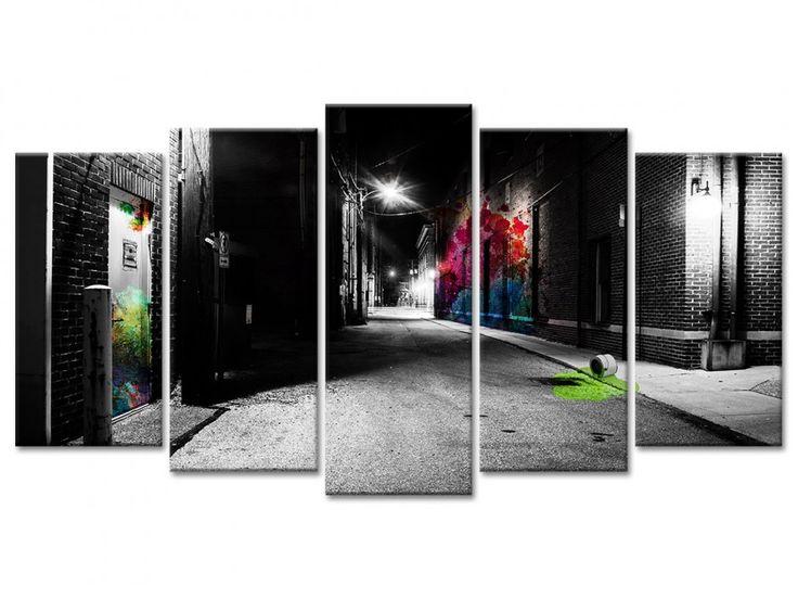 Décoration murale urbaine moderne en vente sur la boutique en ligne declina la référence en matière de tableaux déco design imprimés sur toile