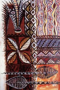 Fatu Feu'u is a senior artist acknowledged as both a leader and mentor within the Pacific arts community in New Zealand. Feu'u grew up in the village of Poutasi in Western Samoa and immigrated to New Zealand in 1966 at the age of 20. He has been an exhibiting artist since the early 1980s and became a full-time artist in 1988.