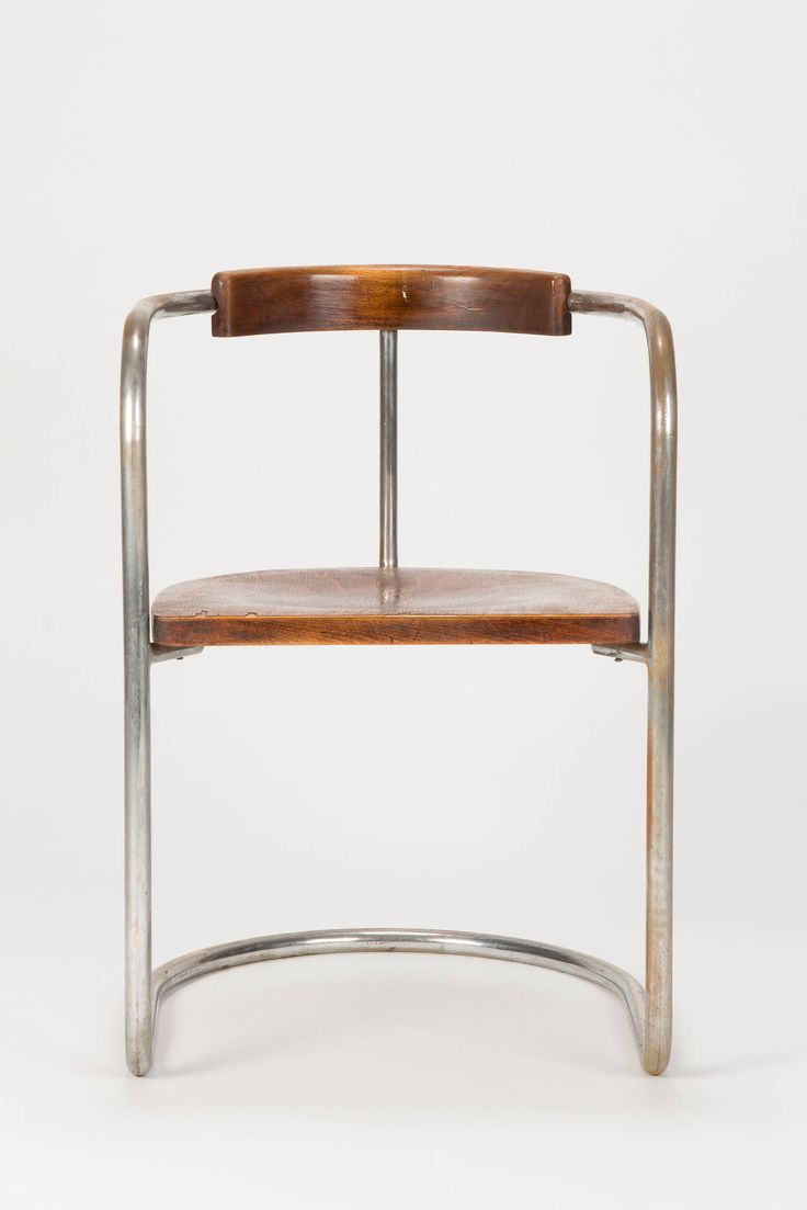 Antique bauhaus steel tube cantilever chair italy 1930s for Danish design stuhl