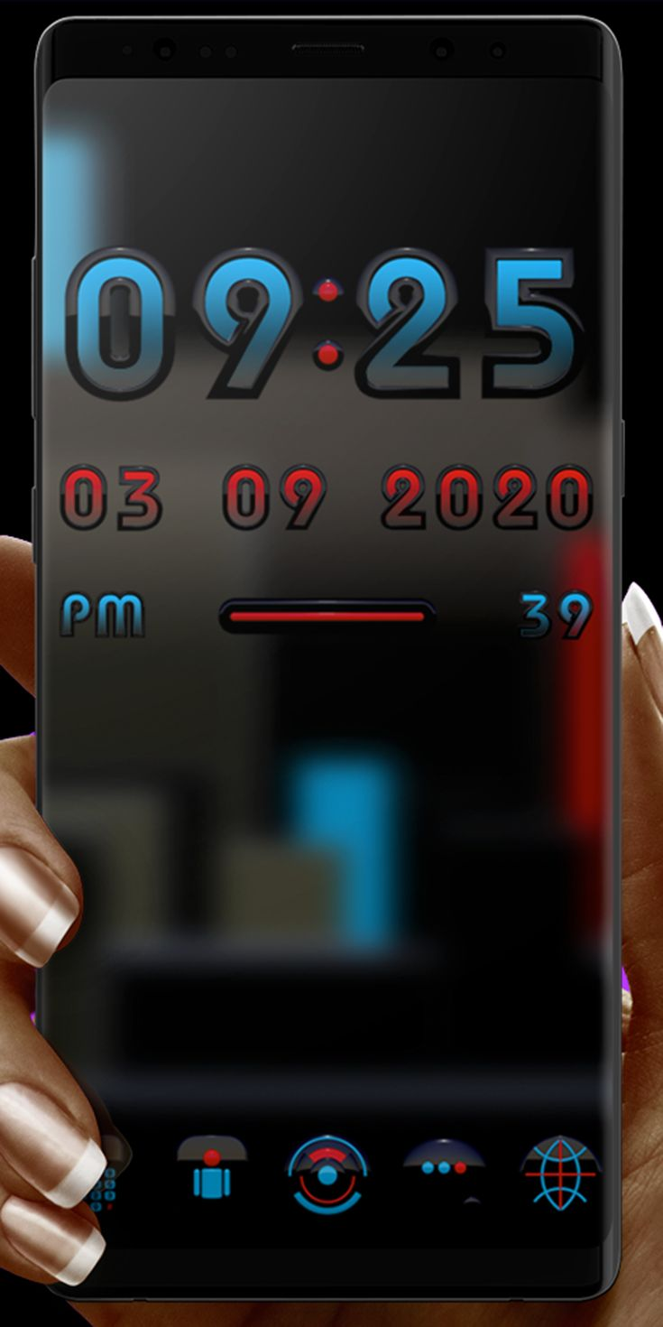 The ALPHA Digital Clock Widget requires an Android