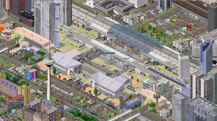 Simutrans, Game Simulasi Transportasi Gratis di Komputer