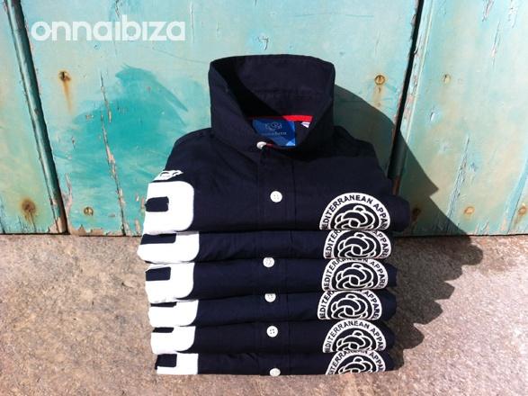 Blue shirts by Onna Ibiza.   Nautic Fashion