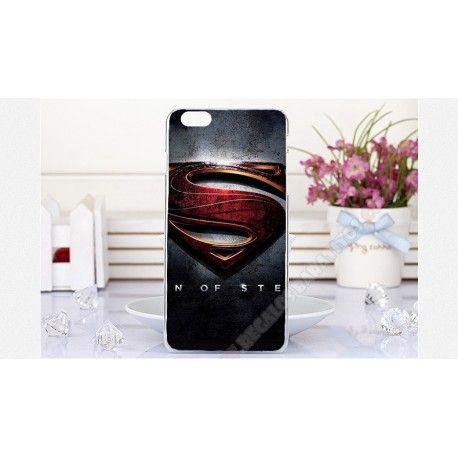 Carcasa barata plástica diseño super man para tu iPhone 6 plus