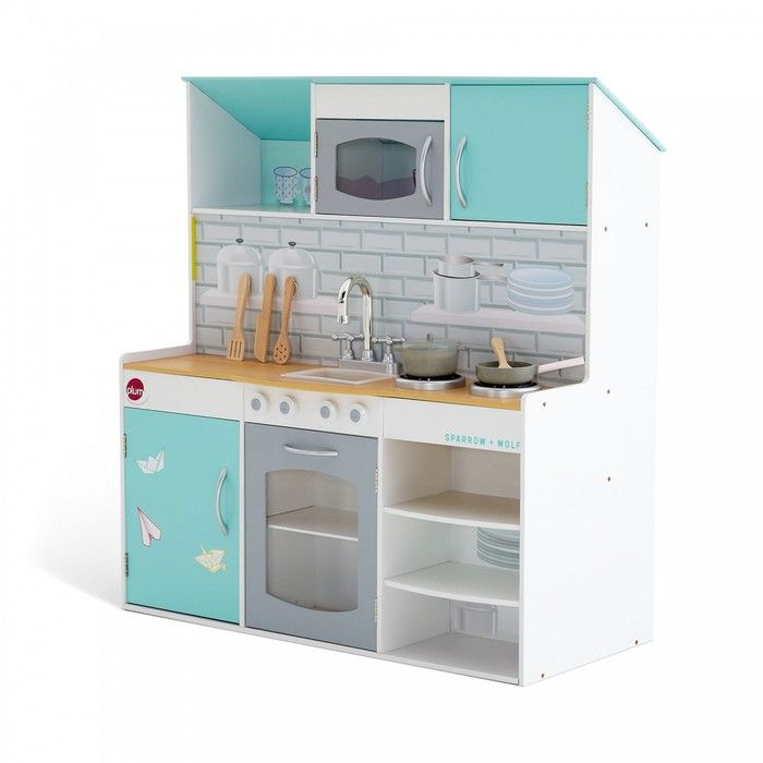 Plum Peppermint Townhouse 2 in 1 Dollhouse Kitchen. Available at Kids Mega Mart online Shop Australia