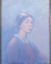 ellen thesleff - Self-Portrait, 1916