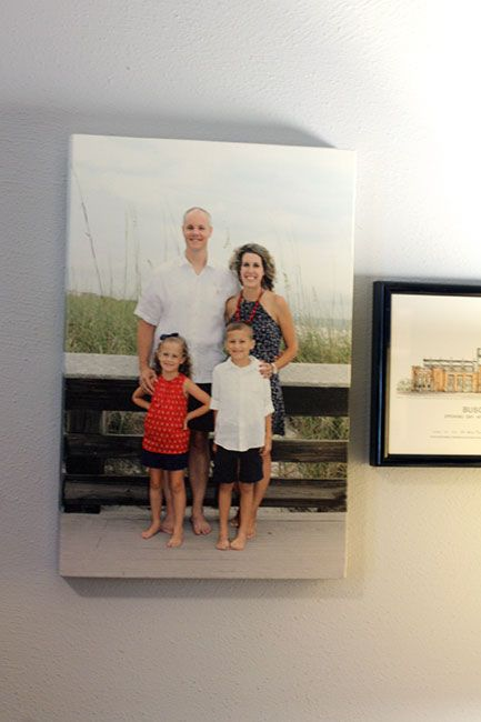 Canvas Champ Reviews : best quality I have ever received....make a canvas print from one of our professional beach photos from last summer. #canvasprints