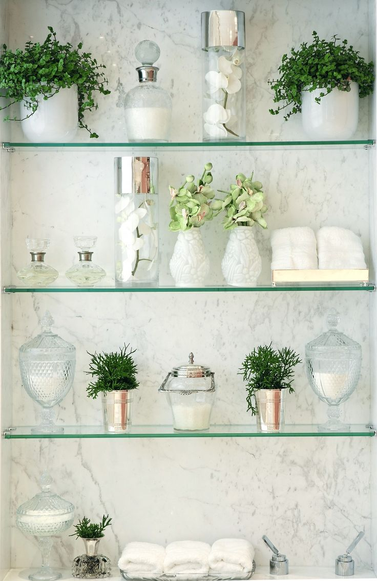 These glass shelves look really nice but ours would need to be much more  functional. 17 best ideas about Glass Shelves on Pinterest   Joanna gaines