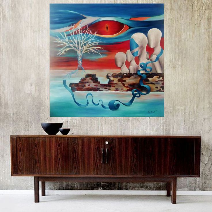 Ejderin Gözü (Eye of Dragon) by Nijer Yeniceli #Tuval üzerine #Yağlıboya / #Oiloncanvas 100cm x 100cm  #gallerymak #sanat #ig_sanat #surreal #sürrealizm #surrealizm #icmimari #mimari #koleksiyoner #dekorasyon #evdekorasyon #turkishart #dekoratif #contemporary #contemporaryart #artlover #artcollector #artbasel #artsy #masterpiece #artgallery #contemporaryartcurator #arte #artlover #artcurator #instaart