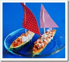 Stuffed Zucchini Pizza Boats | Recipes