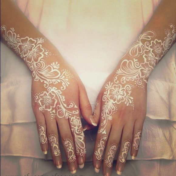 Henna Tattoo For Indian Wedding: BRAND NEW 3 White National Indian Henna Tattoo